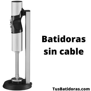 Batidoras sin cable